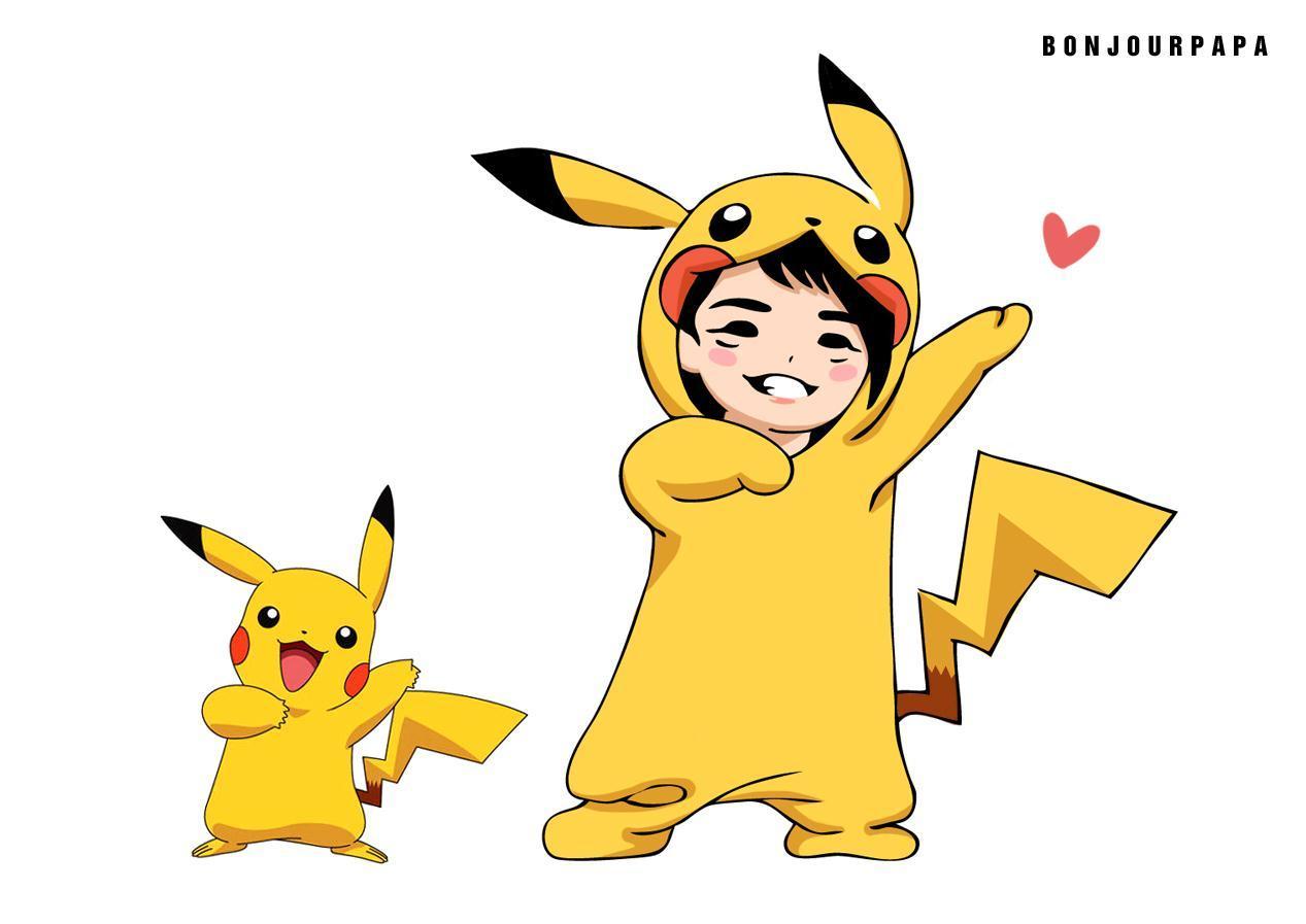 ファンアート:ピカチューJunsu♪:salut! jaejoong!:so-netブログ